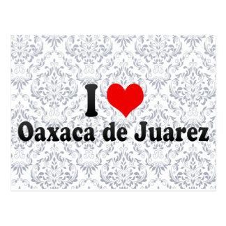 I Liebe Oaxaca de Juarez, Mexiko Postkarte