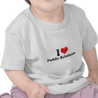 I Liebe-Öffentlichkeit Relationss T-Shirts