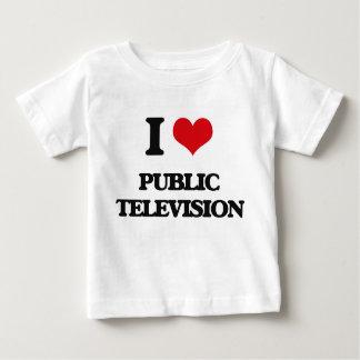 I Liebe-Öffentlichkeits-Fernsehen Tshirts