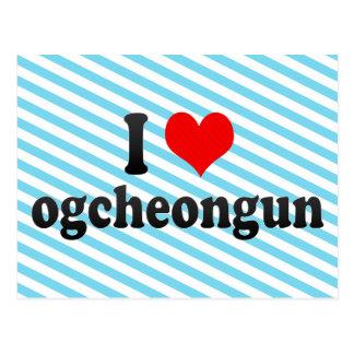 I Liebe ogcheongun, Korea Postkarte