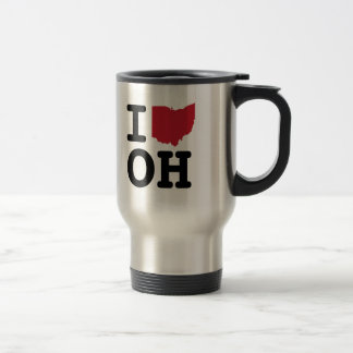 I Liebe Ohio Reisebecher