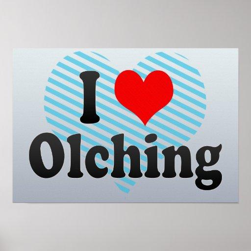 I Liebe Olching, Deutschland Poster