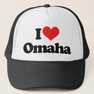 I Liebe Omaha Truckerkappe