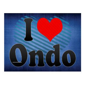 I Liebe Ondo, Nigeria Postkarte