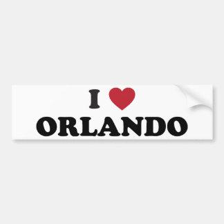 I Liebe Orlando Florida Autoaufkleber
