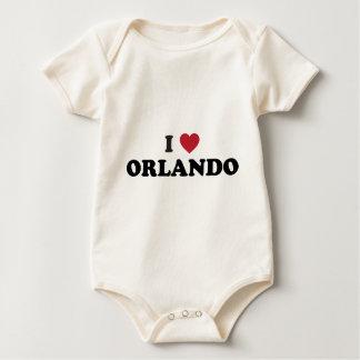 I Liebe Orlando Florida Baby Strampler