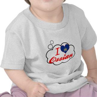 I Liebe Ossian, New York T Shirts