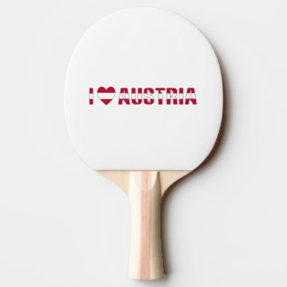 I Liebe Österreich Tischtennis Schläger