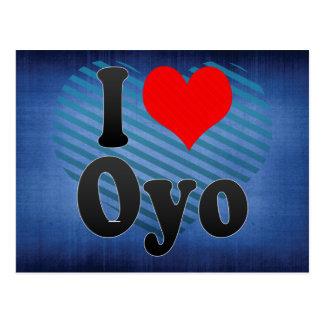 I Liebe Oyo, Nigeria Postkarte
