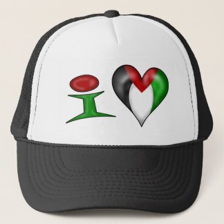 I Liebe Palästina Truckerkappe