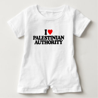 I LIEBE-PALESTINIAN AUTHORITY BABY STRAMPLER