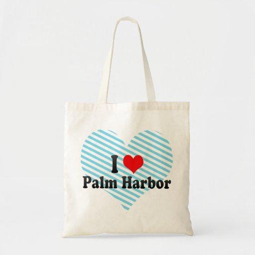 I Liebe Palm Harbor, Vereinigte Staaten Tragetaschen