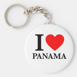 I Liebe Panama Schlüsselbänder