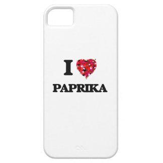 I Liebe-Paprika iPhone 5 Schutzhülle