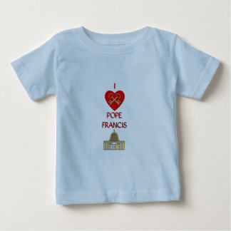 I Liebe-Papst Francis Baby T-shirt