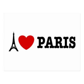 I Liebe Paris Postkarte