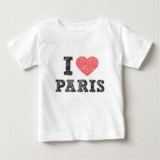 I Liebe-Paris-Skizze Baby T-shirt