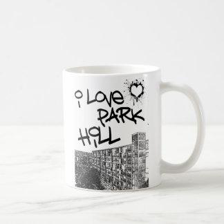 I Liebe-Park-Hügel Kaffeetasse