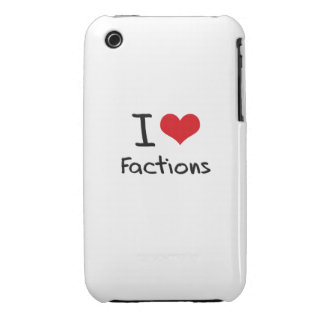 I Liebe-Parteien iPhone 3 Case-Mate Hüllen