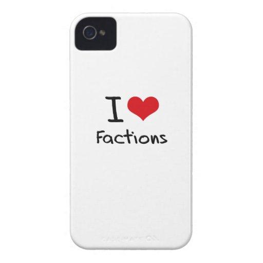 I Liebe-Parteien iPhone 4 Etuis