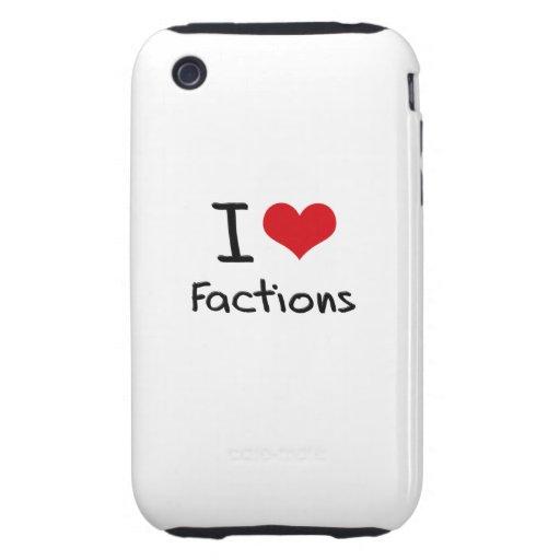 I Liebe-Parteien iPhone 3 Tough Hülle
