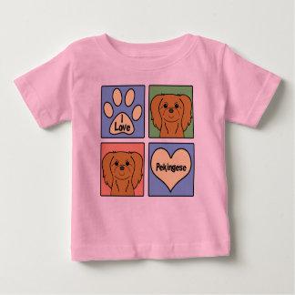 I Liebe Pekingese Baby T-shirt