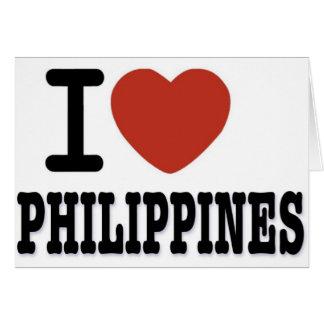 I LIEBE PHILIPPINEN KARTE