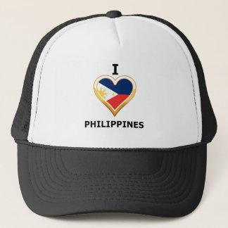 I Liebe Philippinen Truckerkappe