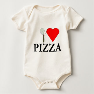 I Liebe-Pizza Baby Strampler
