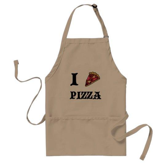 I Liebe-Pizza, die Schürze kocht