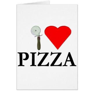 I Liebe-Pizza Karte
