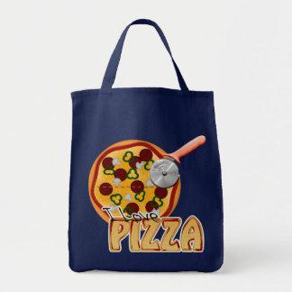I Liebe-Pizza - Lebensmittelgeschäft-Tasche Tragetasche