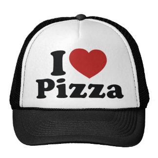 I Liebe-Pizza Truckerkappen