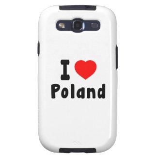 I Liebe Polen Galaxy SIII Schutzhüllen