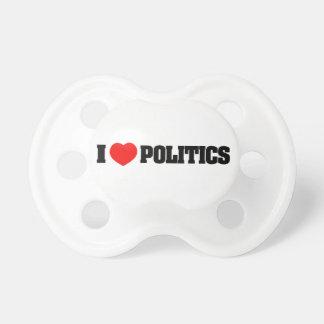 I Liebe-Politik Schnuller