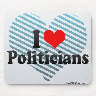 I Liebe-Politiker Mauspads