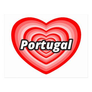 I Liebe Portugal Postkarte