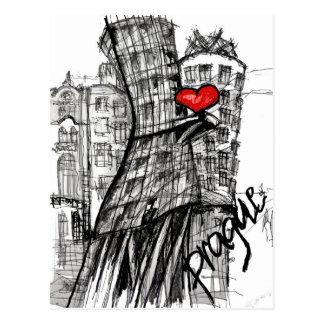 I Liebe Prag Postkarte