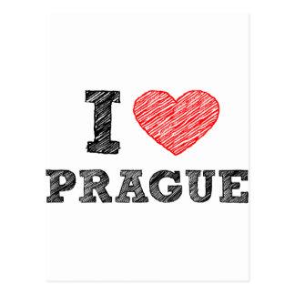 I Liebe Prag Postkarten