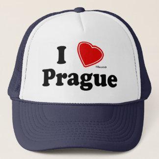 I Liebe Prag Truckerkappe