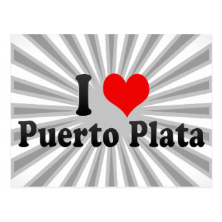 I Liebe Puerto Plata, Dominikanische Republik Postkarte