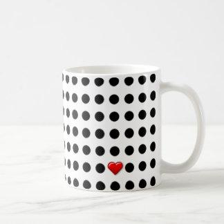 I Liebe-Punkte Kaffeetasse