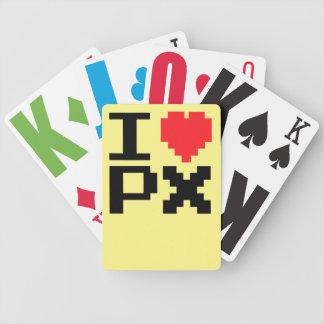 I Liebe PX Bicycle Spielkarten