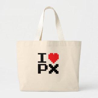 I Liebe PX Jumbo Stoffbeutel
