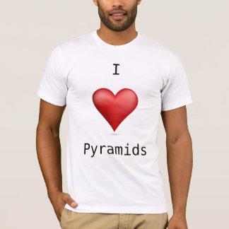 I Liebe-Pyramiden T-Shirt