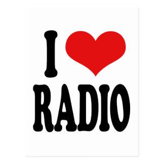 I Liebe-Radio Postkarte