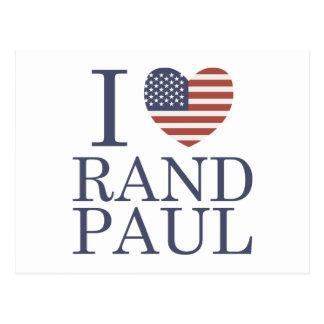 I Liebe-Rand Paul Postkarte
