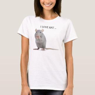 I LIEBE-RATTE T-Shirt