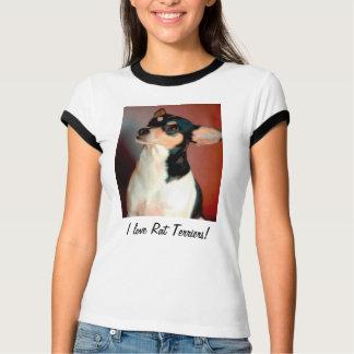 I Liebe-Ratten-Terrier! T - Shirt