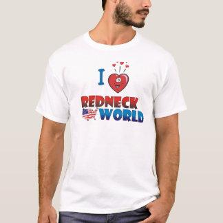 I Liebe-Redneck-Weltt-shirt T-Shirt